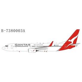 Extra Models B737-800W QANTAS 2016 livery VH-VXP 1:400