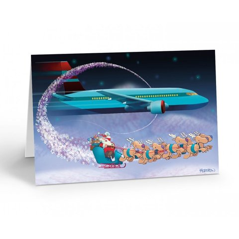 Airliner Fly By  Boxed Cards (18)