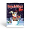 Airplane Theme Snowman  Boxed Cards (18)