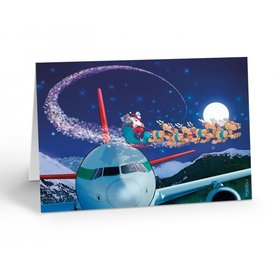 Stonehouse Collection Moonlit Sky Aviation Card Boxed Cards (18)
