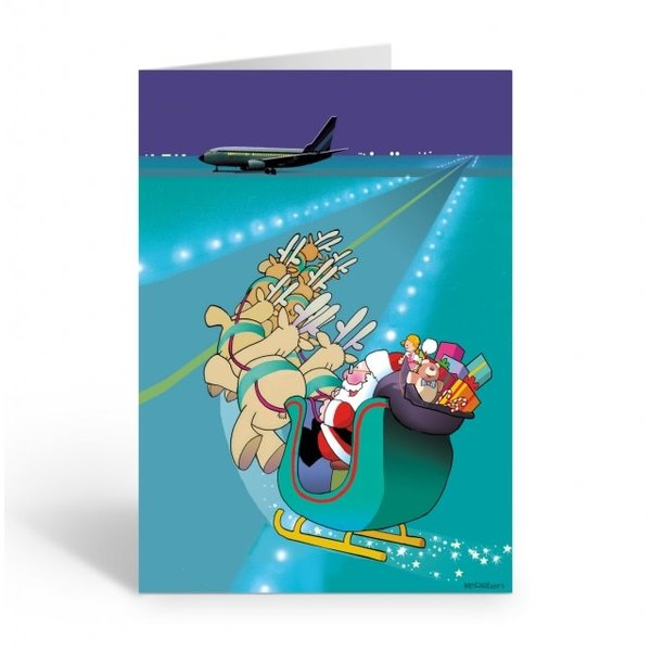Stonehouse Collection Airport Runway Boxed Cards (18)