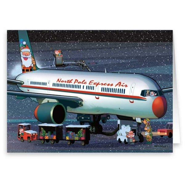Stonehouse Collection Ground Crew Pre-Flight  Boxed Cards (18)