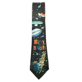 Stonehouse Collection Funny Airplane Christmas Tie