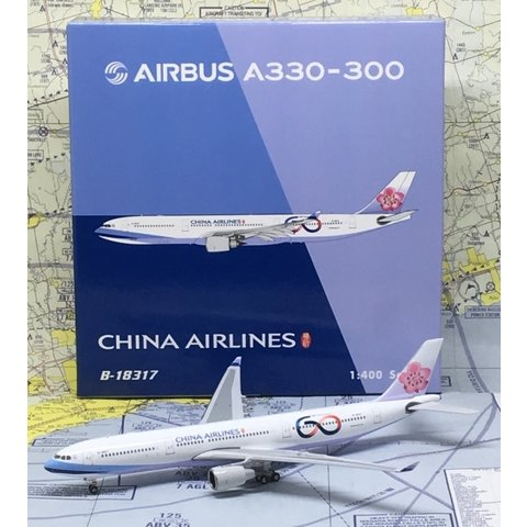 A330-300 China Airlines 60th B-18317 1:400