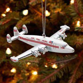 Ornament TWA Super Connie