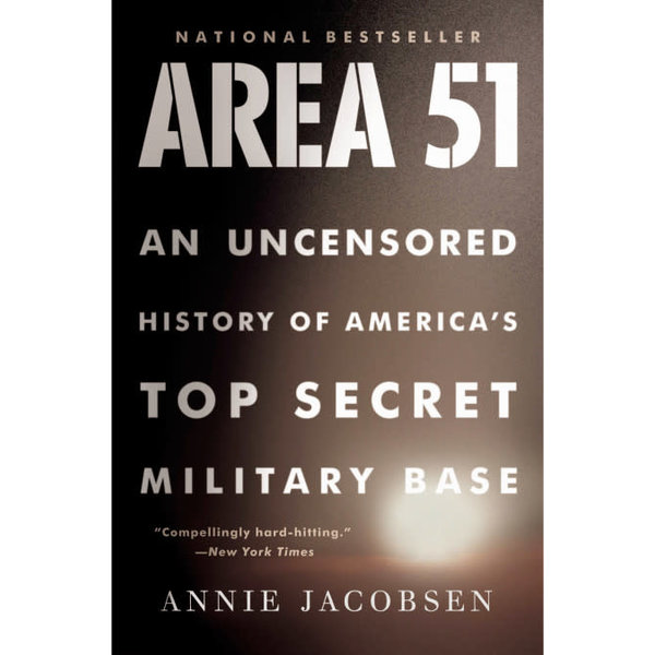 Back Bay Books Area 51: Uncensored History softcover