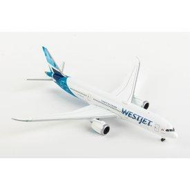 Herpa B787-9 Dreamliner WestJet 2018 Livery C-GUDH 1:500