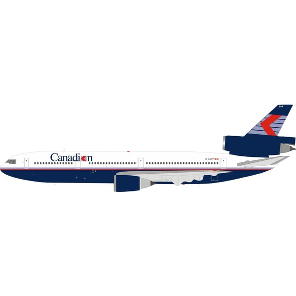 InFlight DC10-30 Canadian Airlines chevron C-GCPF 1:200