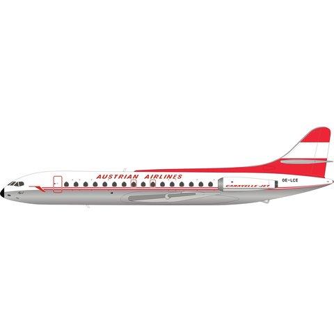 SE210 Caravelle VI-R Austrian OE-LCE 1:200 polished+NSI+