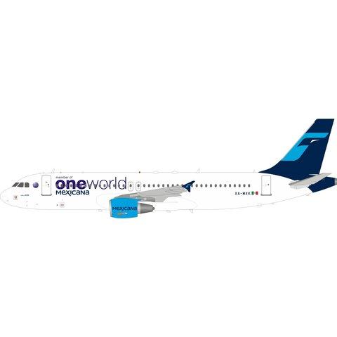 A320-214 Mexicana Oneworld XA-MXK 1:200