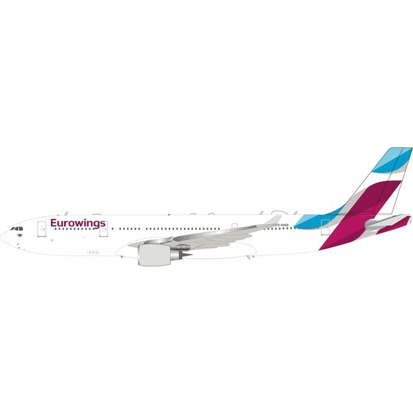 InFlight A330-200 Eurowings D-AXGB 1:200 with stand