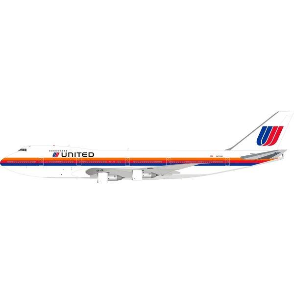 InFlight B747-100 United Airlines Saul Bass N4724U 1:200