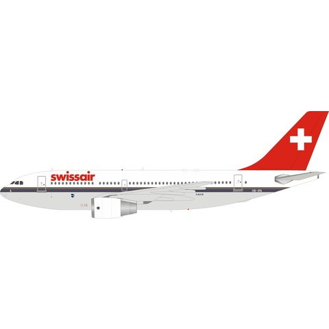 Airbus A310-200 Swissair HB-IPA 1:200 with stand