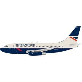 InFlight B737-200 British Airtours G-BGJH 1:200 with stand