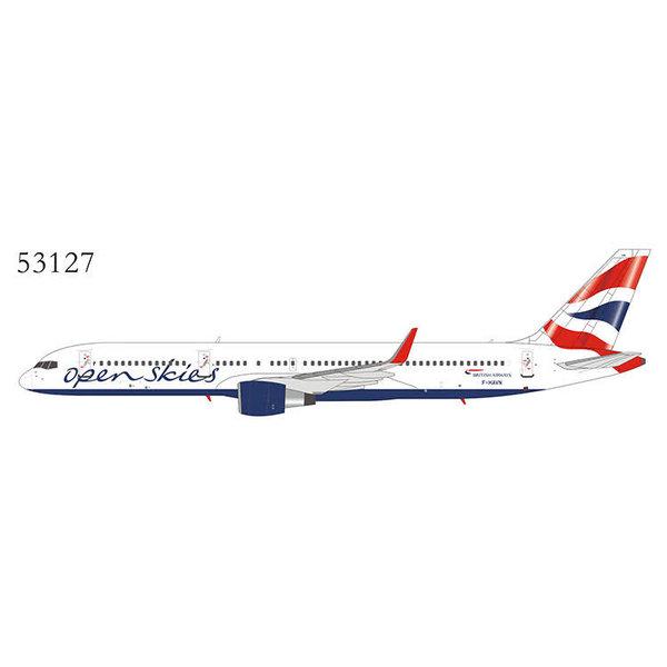NG Models B757-200 British Airways Open Skies F-HAVN 1:400