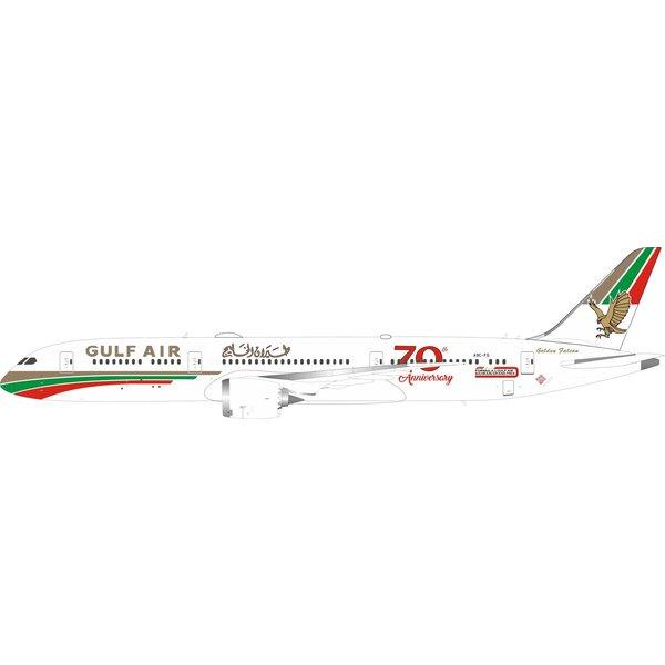 Phoenix B787-9 Dreamliner Gulf Air 70th Retro A9C-FG 1:400