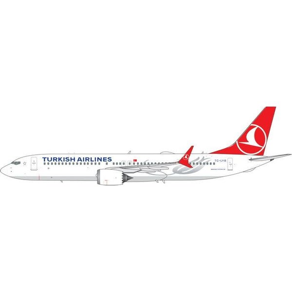Phoenix B737 MAX9 Turkish Airlines TC-LYB 1:400