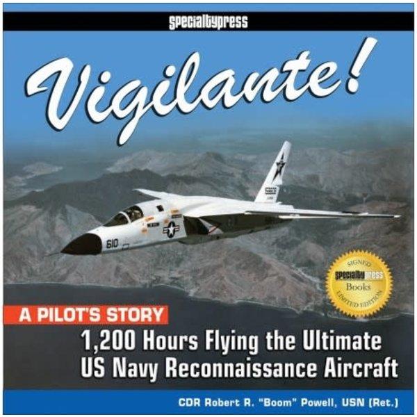 Specialty Press Vigilante: 1,200 Hours Flying US Navy Recce HC