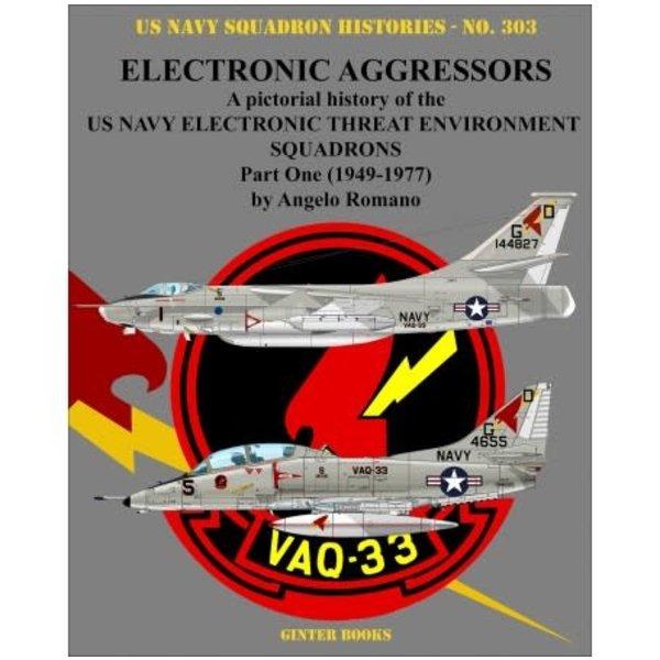 Ginter Books Electronic Aggressors: Pt.1: VAQ33: USNSH#303 SC