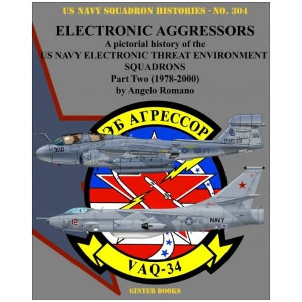 Ginter Books Electronic Aggressors: Pt.2: VAQ34: USNSH#304 SC