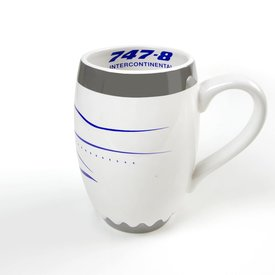 Boeing Store B747-8 Intercontinental Engine Mug