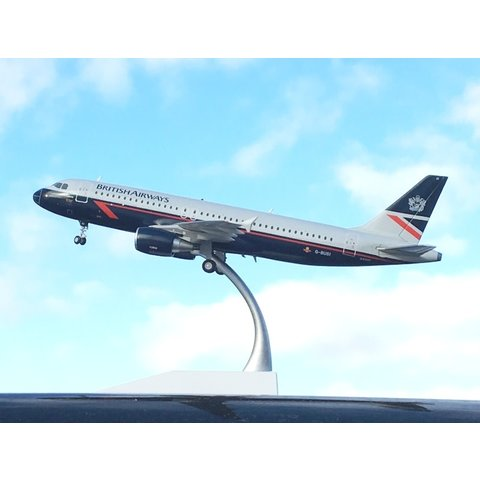 A320 British Airways Landor Livery G-BUSI 1:200 with stand