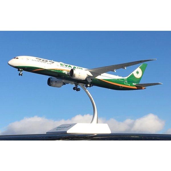 JC Wings B787-9 Dreamliner EVA Air 787 Large Titles 1:200