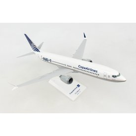 SkyMarks B737 MAX9 COPA Delivery Livery 1:130 with stand