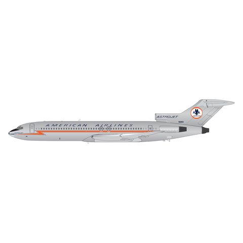 B727-100 American Astrojet N6801 1:200 w/stand