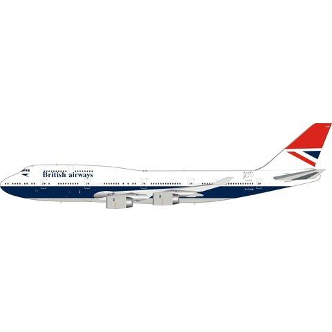 B747-400 British Airways Negus Retro G-CIVB 1:200