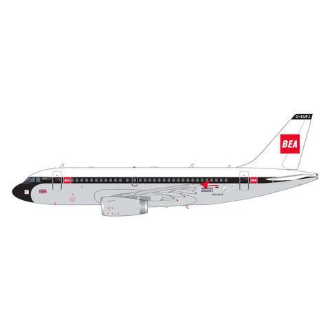 A319 British Airways 100 Years BEA Retro G-EUPJ 1:200