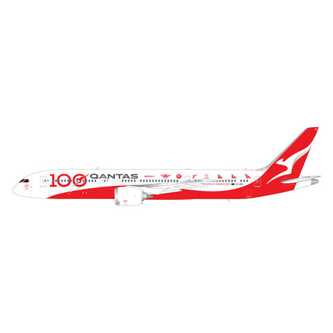 B787-9 Dreamliner QANTAS 100 livery VH-ZNJ 1:200