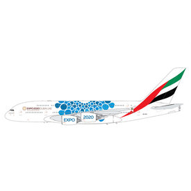 Gemini Jets A380-800 Emirates EXPO 2020 blue A6-EOC 1:200++PREORDER++