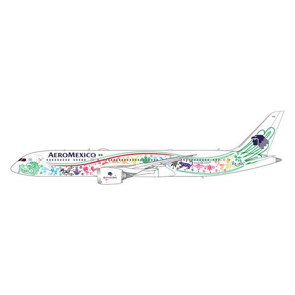 Gemini Jets B787-9 Aeromexico Quetzalcoatl XA-ADL 1:400