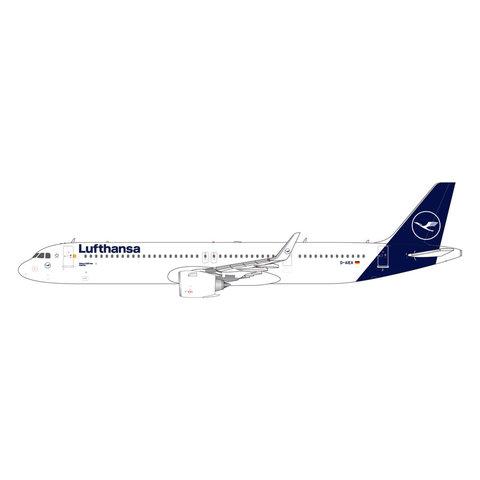 A321neo Lufthansa new livery 2018 D-AIEA 1:400