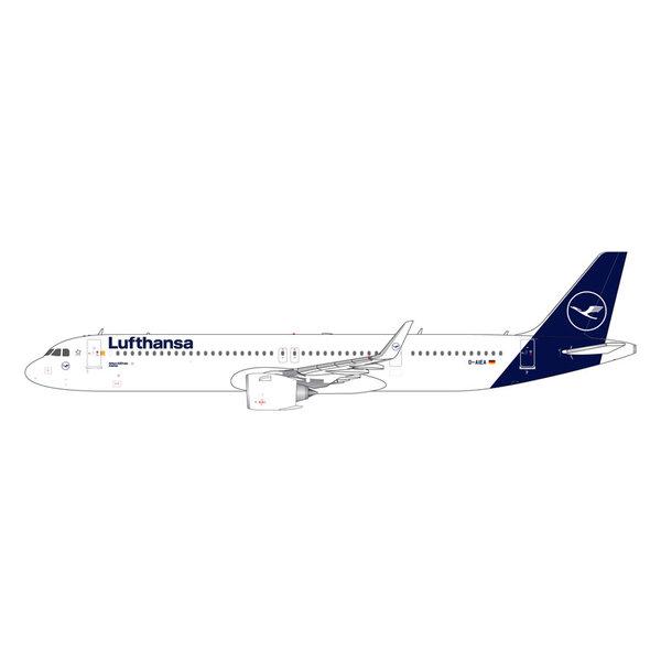 Gemini Jets A321neo Lufthansa new livery 2018 D-AIEA 1:400