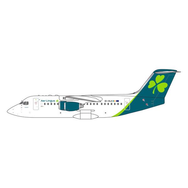 Gemini Jets BAe146/RJ85 Aer Lingus EI-RJI new livery 1:400