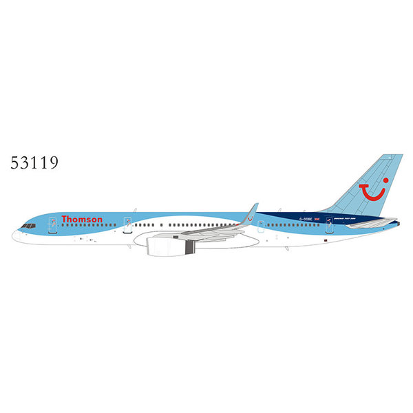 NG Models B757-200W Thomson Airlines tui wave G-OOBE 1:400