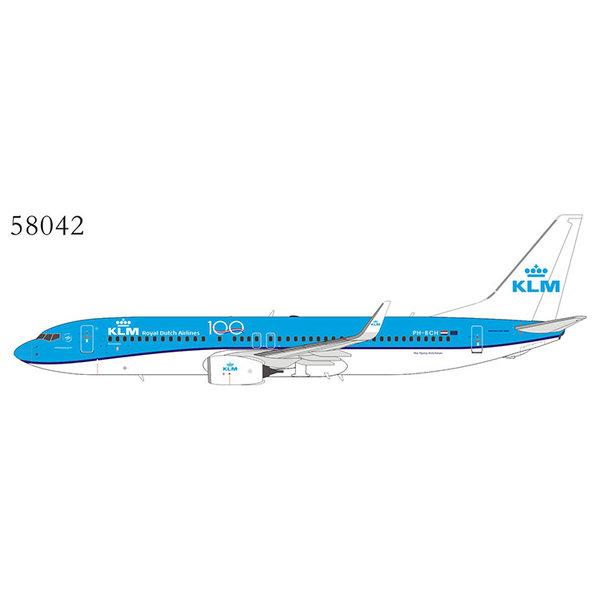 NG Models B737-800W KLM 100 years PH-BCH 1:400