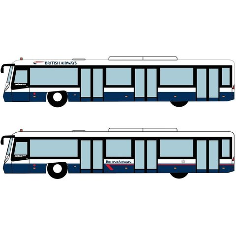 COBUS British Airways 1:400 (4 pieces)