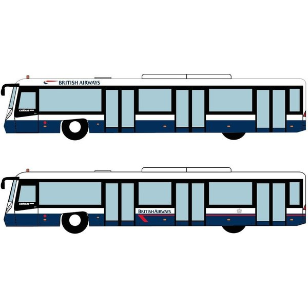 JC Wings COBUS British Airways 1:400 (4 pieces)