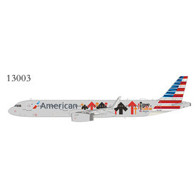 NG Models A321S American Stand Up To Cancer N162AA 1:400