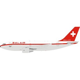 InFlight A310-300 Balair old livery HB-IPK 1:200 with stand
