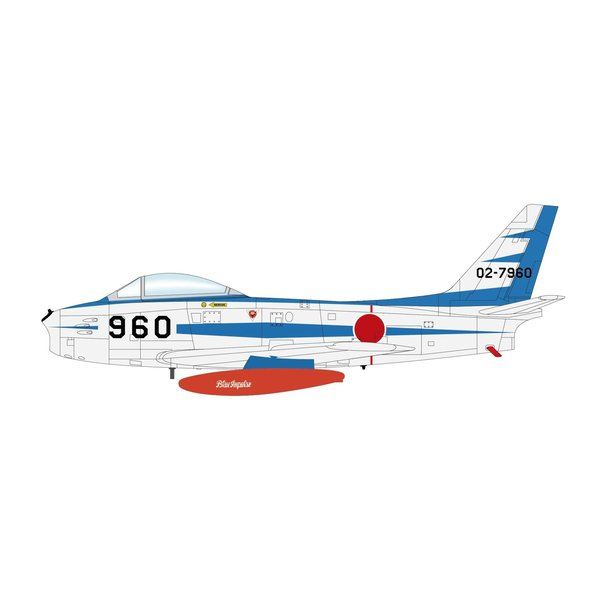 Hobby Master F86F Sabre JASDF Blue Impulse 02-7960 1:72