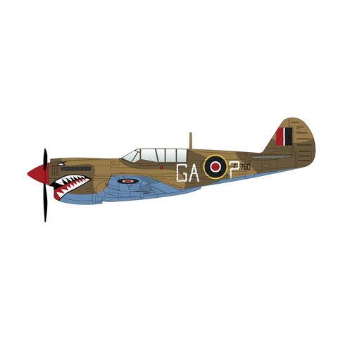 P40N Kittyhawk 112 Squadron RAF GA-? FX760 1:72