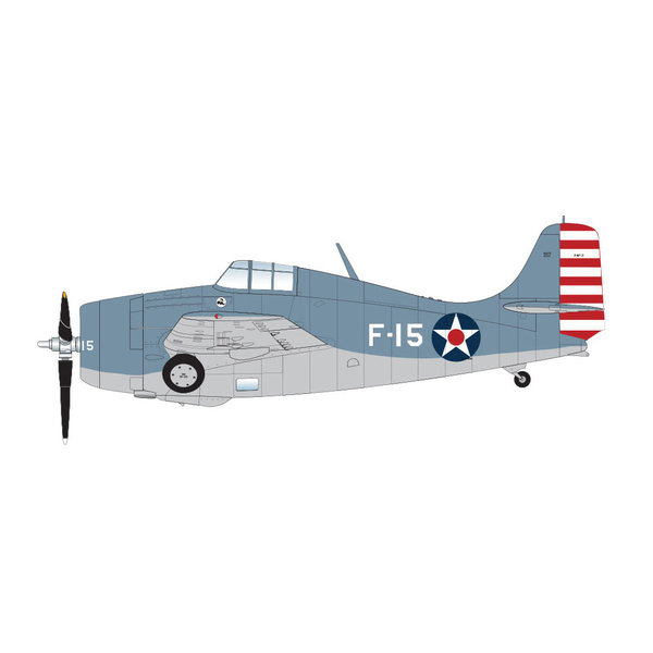 Hobby Master F4F3 Wildcat VF3 Lt.Butch O'Hare F-15 1:48