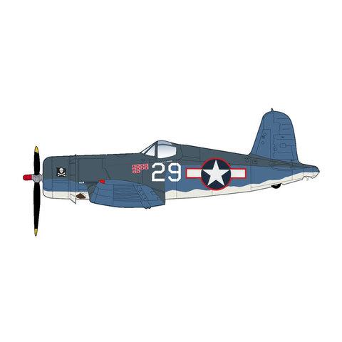 F4U1A Corsair VF17 Jolly Rogers WHITE29 Kepford 1:48