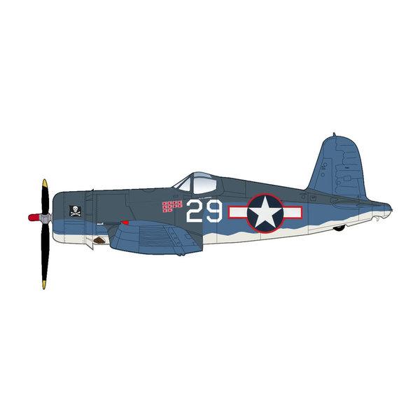 Hobby Master F4U1A Corsair VF17 Jolly Rogers WHITE29 Kepford 1:48