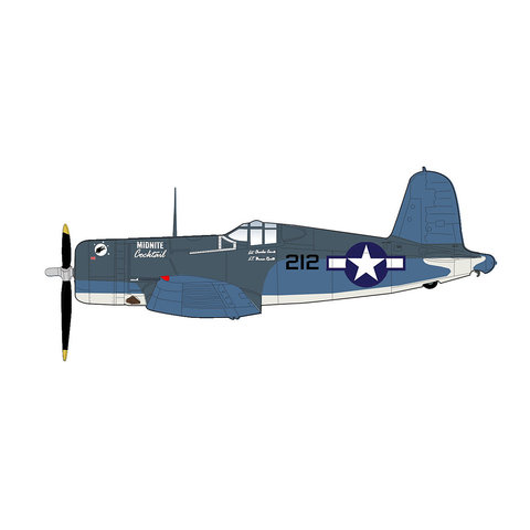 F4U1A Corsair VMF(N)-532 Midnite Cocktail 212 1:48
