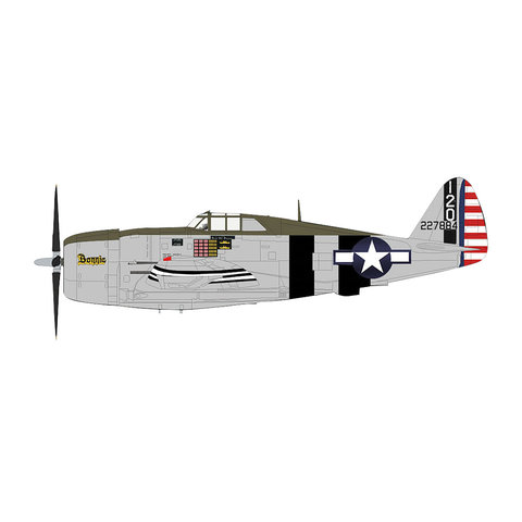 P47D Thunderbolt Bonnie 460FS 348FG 120 1:48